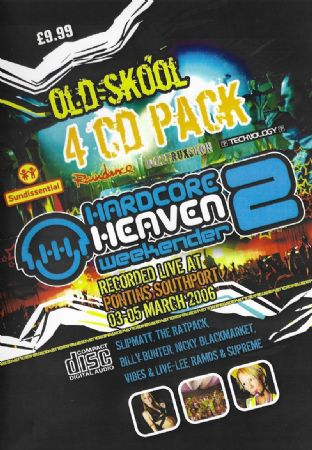 Hardcore Heaven - Weekender - 2 - Old Skool Pack